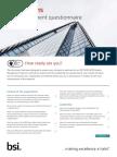 ISO9001 Self Assessment Checklist FINAL APR2016