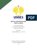 Instalasi Windows 8 Di Virtualbox