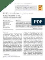 Optical Properties of III Mn v Ferromagnetic Semiconductors