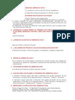 Cuestionario Derecho Civil I (Primera Comprobacion)
