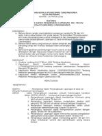 Hal 1 Surat Keputusan Pembentukan Kader Penjangkau Lapangan