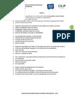 Prova 2 Comp Auditiva b2 2015