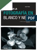 Trabajar La Fotografia en Blanco y Negro