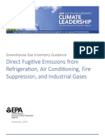 Direct Fugitive Emissions from Refrigeration, Air Conditioning, Fire Suppression, and Industrial Gases