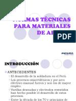 9.- CLASIFICACION AWS PARA MATERIALES DE APORTE.pdf