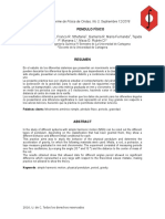 Informe 3 - Pendulo Fisico