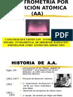9-Espectrometría Absorción Atómica  19 Junio 14.ppt
