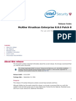McAfee VirusScan Enterprise 8 8 Patch 8 Repost