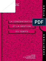 Guide_Concentration Gestion Du Temps