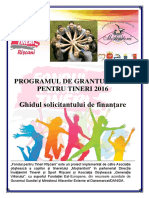 Programul de Granturi Mici