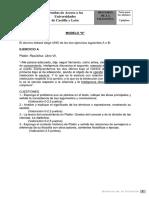PAU Filosofía 2010 Modelo a Castilla y León