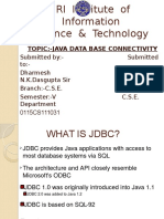 Dharmesh(JDBC)
