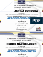 Credenciales Risaralda 2016