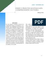 Concepciones y prácticas evaluativas