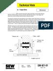 Eurodrive Torque Arm Technical Notes
