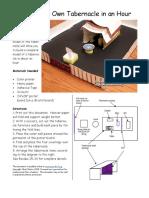 Tablernacle - Printable 3D Model Kit