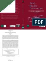 Estatuto de Cataluña - Rev. Teoria y relidad consttucional