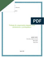 Educación estética audiovisual, en el arte en el tiempo prehistórico y prehispanico