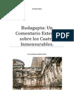 Budagupta Un Comentario Extenso Sobre Los Cuatro Inmensurables.