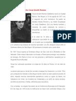 Biografía de Monseñor Romero y Adolf Hitler