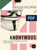 Gabriella Coleman - Anonymous