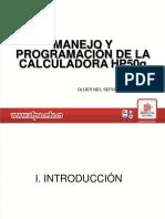 Manejo yprogramacion de la calculadora hp50g