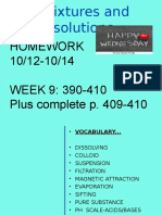 week 9 grade 8 mixtures   solutions notes