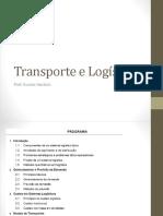 Transporte e Logística - Aula 01 - 2016-2