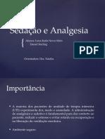 Sedação e Analgesia