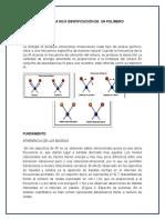 Práctica No 9 Identificación de Un Polímero