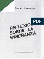 Sobre La Enseñanza Djalal Forghani