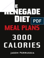 Renegade Diet Meal Plan 3000