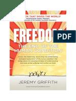 Freedom. the End of Human Condition - Professor Harry Prosen (Psychiatric)