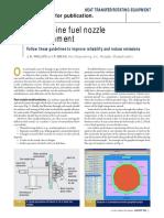 Gt Fuel Nozzle Refurbishment