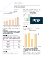 Trabalho de Matemática Grafico e Tabela