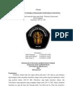 RINGKASAN MEMBANGUN KEMBALI PERADABAN DEMOKRASI INDONESIA