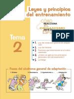 Leyes y Principios Del Entrenamiento Deportivo