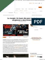 'La Jungla_ Un Buen Día Para Morir', Crítica de La Película Con Bruce Willis