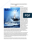 Ted Wilson Sermon; Believe His Prophets-Indonesian [Ministry Magazine October 2016]