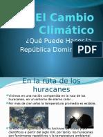 El Cambio Climático en Republica Dominicana.pptx