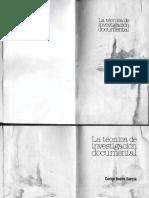 Carlos Bosch García - La Técnica de La Investigación Documental