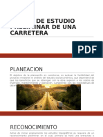 Estudio Preliminar, Volumen de Transito