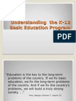 Understanding the K-12 Basic Education Program_updated 042312.ppt