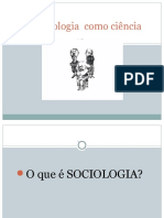 A Sociologia Como Ciência Slides Versão Final - Copia