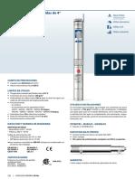 Pedrollo Modelo 4sr13g-10@1hp