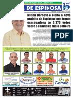 Jornal de Espinosa 07 outubro 2016