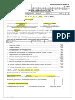 Fpj-28 Acta de Consentimiento Formato Valoracion Por Medicina Legal