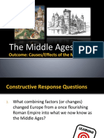 causes of the middle ages up