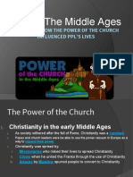 power of the church up