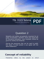 TSL 3123 Tutorial